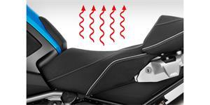 karbonové vyhrievanie sedla motocykelov a ATV TORAY Japonsko 2 stupňová regulace teploty