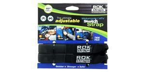 popruhy ROK straps HD nastavitelné a zesílené OXFORD UK čierna šířka 25mm pár