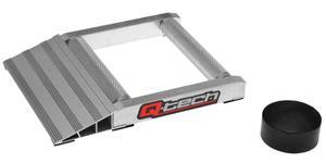 hliníková podložka pre mazání reťaz e QTECH strieborná