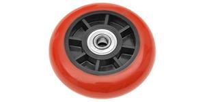 náhradný kolečko pre stojan na motocykel QTECH černo-červené