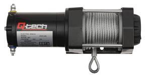 naviják ATV / UTV s ocelovým lanem tažná síla 1 134 kg QTECH