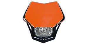 pred. Maska vr. světla V-Face RTECH  oranžovo-čierna