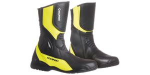 Obuv čižmy Sport Touring KORE   čierne žluté fluo vel. 43