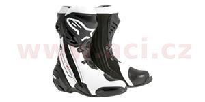 boty Supertech R, ALPINESTARS - Itálie (černé/bílé, vel. 42)
