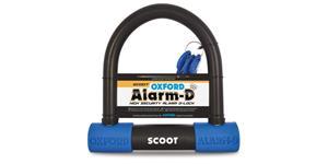 zámokprofil Alarm-D Scoot OXFORD UK integrovaný alarm priemer čepu 16 mm