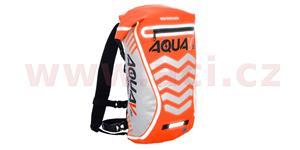 Vodotesný batoh Aqua V20 Extreme Visibility OXFORD UK oranžová fluo/Reflexný prvky objem 20l