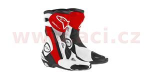 boty SMX Plus 2016, ALPINESTARS - Itálie (černé/bílé/červené, vel. 45)