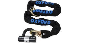 reťazový zámok na motocykel HD Loop s kovaným okem pre možnost prevléknutí do smyčky OXFORD UK délka 1 2 m