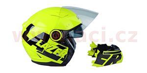 přilba Corsica Safety, LAZER - Belgie (žlutá fluo/černá, vel. M)