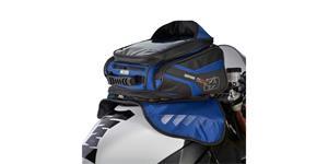 tankvak na motocykel M30R OXFORD UK čierny/modrý s magnetickou základnou objem 30l