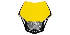 pred. Maska vr. světla V-Face RTECH  žluto-čierna