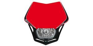 pred. Maska vr. světla V-Face RTECH  červeno-čierna