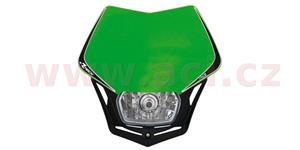 pred. Maska vr. světla V-Face RTECH  zeleno-čierna