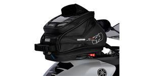 tankvak na motocykel Q4R QR OXFORD UK čierny s rychloupínacím systémem na viečka nádrže objem 4l