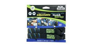 popruhy ROK straps MD nastavitelné OXFORD UK čierna/modrá/zelená šířka 16mm pár