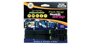 popruhy ROK straps MD nastavitelné OXFORD UK čierna šířka 16mm pár