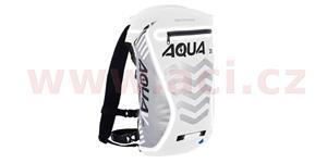 Vodotesný batoh Aqua V20 Extreme Visibility OXFORD UK biela/šedá/Reflexný prvky objem 20l