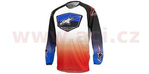 dres Racer Supermatic 2017 ALPINESTARS dětský červená modrá biela vel. YM