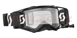 okuliare preSPECT WFS SCOTT čierna čiré plexi s Roll-Off