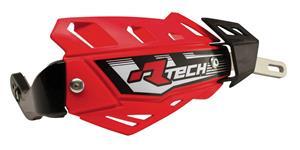 kryty páčok FLX ALU RTECH  červené bez montážnej sady nutné dokúpiť