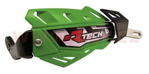 kryty páčok FLX ALU RTECH  zelené bez montážnej sady nutné dokúpiť
