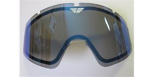 sklo FLY Zone double FLY RACING zrcadlově modré kouřové