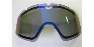 sklo FLY Zone double FLY RACING zrcadlově modré