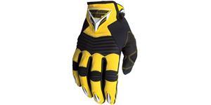 rukavice FLY F16 FLY RACING USA žltá čierna vel. 7