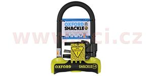 zámokprofil Shackle 14 OXFORD UK ŽLTÝ/čierny 260x170 mm priemer čepu 14 mm