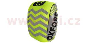reflexní obal/pláštěnka batohu Bright Cover, OXFORD - Anglie (žlutá fluo/reflexní prvky, Š x V = 640 x 720mm)