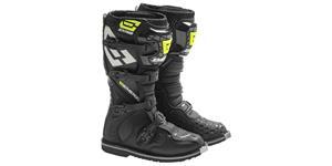 boty EM10, EMERZE (černé/žluté fluo/šedé/bílé, vel. 41)