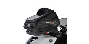 tankvak na motocykel Q30R QR OXFORD UK čierny s rychloupínacím systémem na viečka nádrže objem 30l