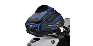 tankvak na motocykel Q30R QR OXFORD UK čierny/modrý s rychloupínacím systémem na viečka nádrže objem 30l