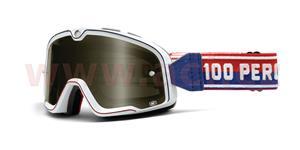 custom okuliare Barstow Classic 100% biela kouřové plexi