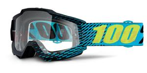 brýle Accuri R-Core , 100% - USA (černá , čiré plexi s čepy pro slídy)