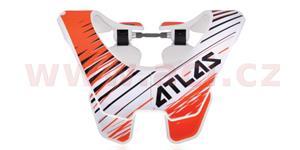 chránič krční páteře Air Trooper, ATLAS (bílá/oranžová , vel. L)