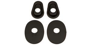 adaptéry pro osazení blinkrů do kapotáží Yamaha, OXFORD - Anglie (pár)