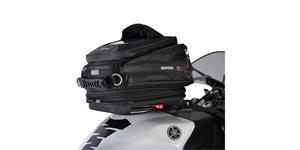 tankvak na motocykel Q15R QR OXFORD UK čierny s rychloupínacím systémem na viečka nádrže objem 15l