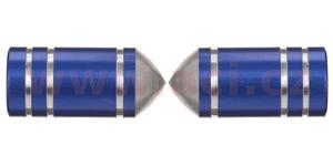čiapočky ventilkov Bullets OXFORD UK modré pár