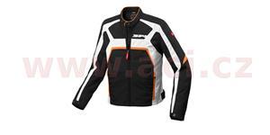 bunda EVORIDER TEX, SPIDI - Itálie (černá/bílá/oranžová, vel. L)