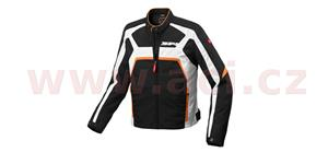 bunda EVORIDER TEX, SPIDI - Itálie (černá/bílá/oranžová, vel. XL)