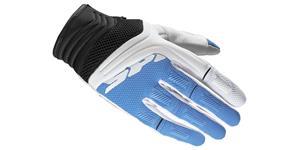 rukavice MEGAX SPIDI dámské biela modrá vel. XS