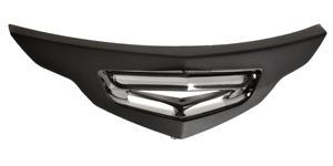 bradový kryt ventilace pre prilby MOVEMENTS S AIROH  čierny