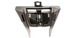bradový kryt ventilace pre prilby PHANTOM S AIROH  čierny
