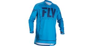 dres LITE 2018, FLY RACING - USA (modrá/modrá navy, vel. XL)
