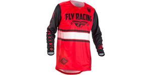 dres Kinetic ERA 2018 FLY RACING USA čierna červená vel. M