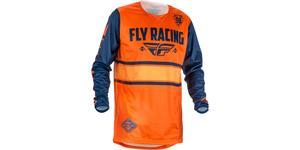 dres Kinetic ERA 2018 FLY RACING USA oranžová modrá vel. 2XL