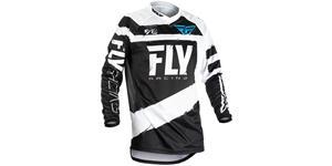 dres F16 2018 FLY RACING USA dětský šedá čierna vel. YS