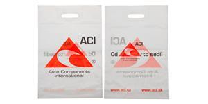 Igelitová taška ACI - 34,5 x 50 cm