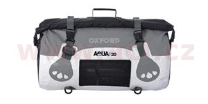 Vodotesný vak Aqua20 Roll Bag OXFORD UK biely/šedý objem 20l